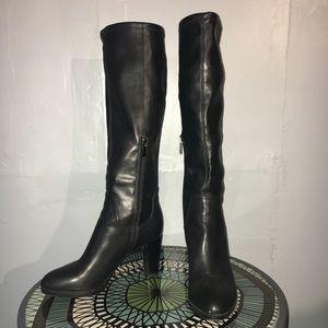Franco Sarto high heel black boots